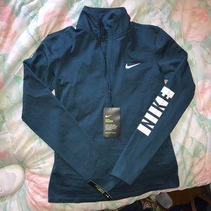 Nike Dry Fit Long Sleeve Quarter ZIP